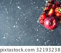 fruit, supermarket, cart 32193238
