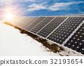 solar, photovoltaic, sun 32193654