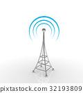 Mobile antena. Communication concept 32193809