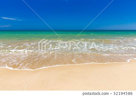beach and tropical sea 32194586