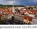 Prague panoranic view on city 32195198