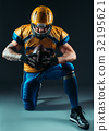football, player, uniform 32195621