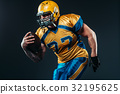 football, player, uniform 32195625
