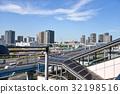 유리카모메 아리아케 역에서의 풍경 32198516