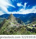 Machu Picchu, a UNESCO World Heritage Site 32203016