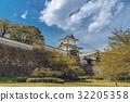 신록의 가나자와 성 이시카와 문 경관 32205358