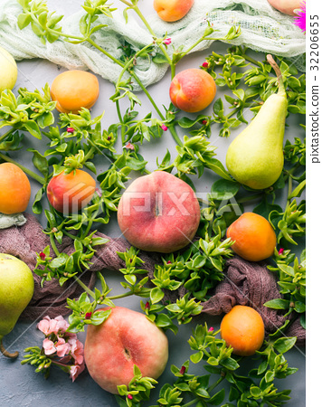 Fresh summer fruit concept still life 32206655
