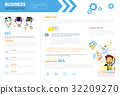 Business Infographics Set Copy Space For 32209270