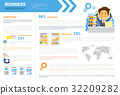 Business Infographics Set Copy Space For 32209282