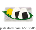 rice ball, japanese food, japanese cuisine 32209505