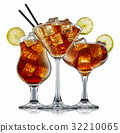 alcohol cocktail isolated on white background 32210065