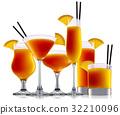orange cocktail beverage 32210096