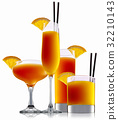 orange cocktail alcohol 32210143