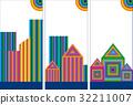 Symbols of real estate 32211007