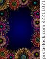 Fireworks frame 32211071