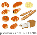 vector, vectors, bread shop 32211706