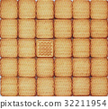 texture from identical pastry with single unique 32211954