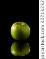 蘋果 水果 綠色 32213232