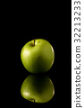 蘋果 水果 綠色 32213233