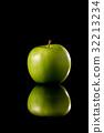 蘋果 水果 綠色 32213234
