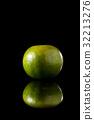 柑橘果 水果 綠色 32213276