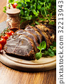 Roasted pork neck with spices 32213943