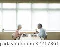 老人 老年夫妇 夫妇 32217861