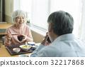 老人 吃 饮食 32217868