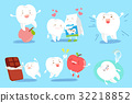 tooth with health concept 32218852