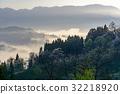 morning, dew, fog 32218920