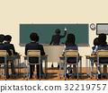 學校 教室 小學生 32219757