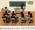 學校 教室 小學生 32219769