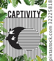 Graphic of bird unleashed from captivity to freedom 32225818