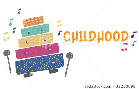 children early education leisure activities music for kids illustration 32230099