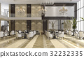 luxury hotel reception and lounge restaurant 32232335