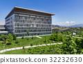 Modern hospital building 32232630
