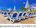 deckchair spain resort 32236319