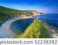 Beautiful beach on the Jurassic Coast of Dorset UK 32236362