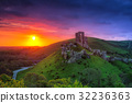castle, ruins, corfe 32236363
