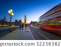 London scenery at Westminter bridge with Big Ben 32236382