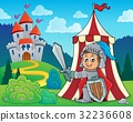 Knight by tent theme image 2 32236608