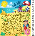 Maze 28 with beach theme 1 32236613