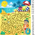 Maze 28 with beach theme 2 32236615