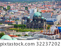 Panorama of Berlin city, Germany. Aerial view. 32237202