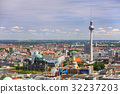 Panorama of Berlin city, Germany. Aerial view. 32237203