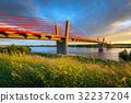 bridge, poland, vistula 32237204