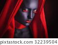 Black makeup 32239504