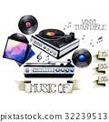 錄音 音樂 樂譜 32239513