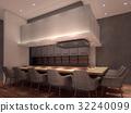 餐廳 飯店 室內裝飾 32240099