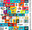 mega, collection, isometric 32240829